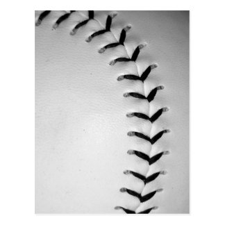Le noir pique le base-ball/base-ball cartes postales