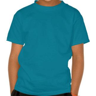 Le nom fait sur commande de vapeur de train rouge t shirts