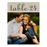 Le nombre de Tableau de photo de mariage carde le Carte Postale