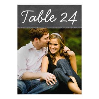 Le nombre de Tableau de photo de mariage carde le  Invitation Personnalisable