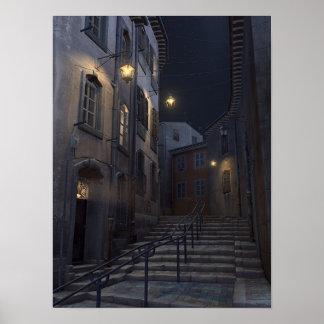 Le Panier de nuit Poster