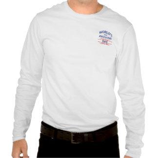 Le papa le plus impressionnant du monde tee shirts