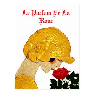 Le Parfum De La Rose Postcard