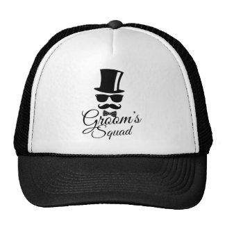 Le peloton du marié casquette