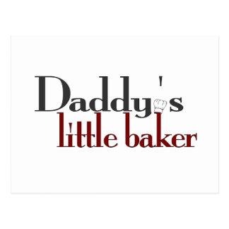 Le petit boulanger du papa carte postale