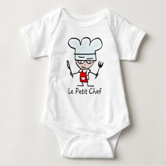 Le petit chef cartoon tshirt for kids and babies