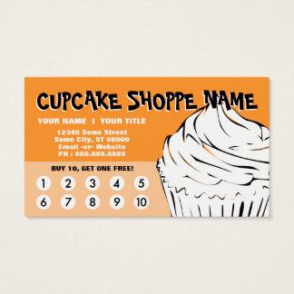 le petit gâteau courbe la fidélité cartes de visite