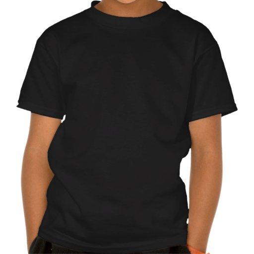 Le petit homme de pont du papa -- Blanc et vert T-shirts