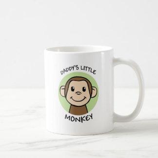 Le petit singe du papa mug à café