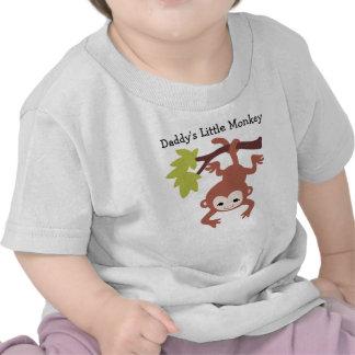 Le petit singe du papa t-shirt