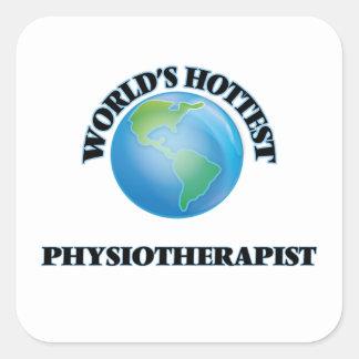 Le physiothérapeute le plus chaud du monde sticker carré