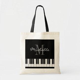 Le piano fait sur commande verrouille le sac