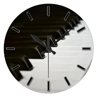 Le piano verrouille l horloge murale de mélomane