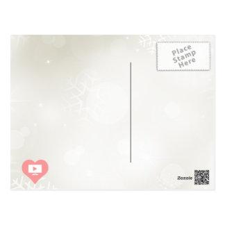 Le pictogramme de l'affichage à cristaux liquides carte postale