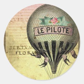 *Le PiLoTe* Classic Round Sticker