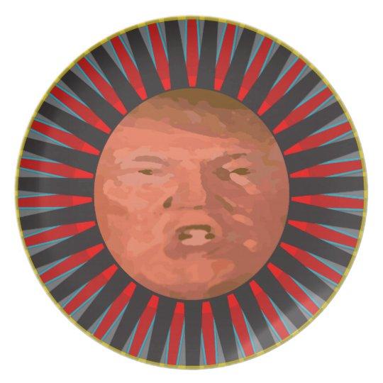 Le Plat D John Trump Plate