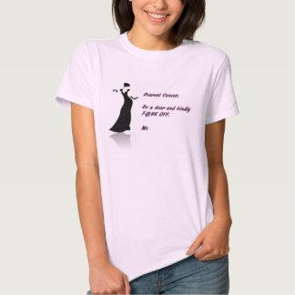 Le plus cher Cancer, ne soit pas en ligne avec Tee Shirt