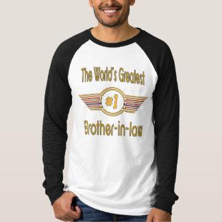 Le plus grand beau-frère du monde tshirts