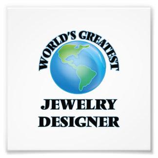 Le plus grand concepteur des bijoux du monde photo d'art