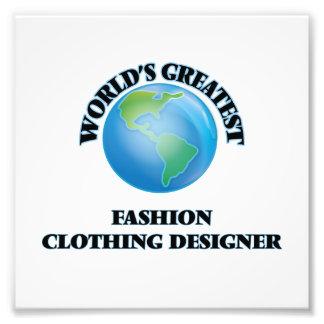 Le plus grand concepteur des vêtements de mode du photos