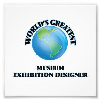 Le plus grand concepteur d'exposition du musée du photographies