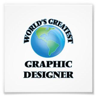 Le plus grand concepteur du monde impression photo