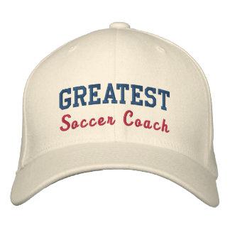 Le plus grand entraîneur du football casquettes de baseball brodées
