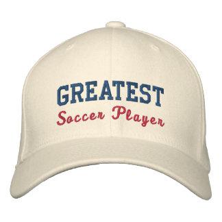 Le plus grand footballeur casquette brodée