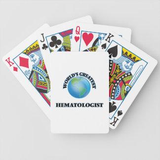Le plus grand hématologue du monde jeux de poker