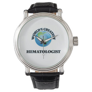 Le plus grand hématologue du monde montres bracelet