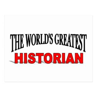 Le plus grand historien du monde cartes postales