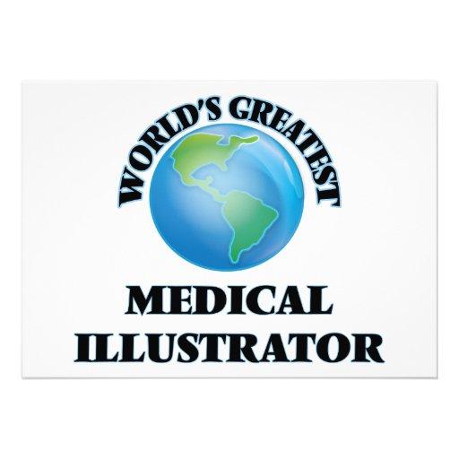 Le plus grand illustrateur médical du monde invitation personnalisable