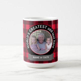 Le plus grand modèle photo de coutume de mug