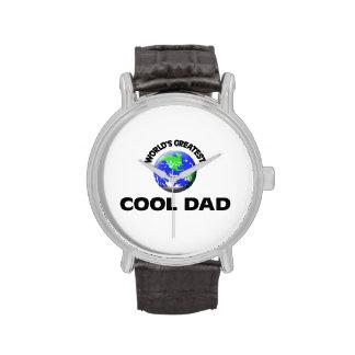 Le plus grand papa frais du monde montres bracelet