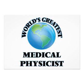 Le plus grand physicien médical du monde invitations personnalisées