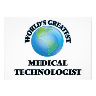 Le plus grand technologue médical du monde bristol personnalisé