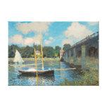 Le pont à Argenteuil par Claude Monet Impression Sur Toile
