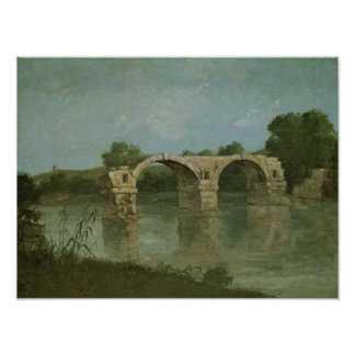 Le pont chez Ambrussum Poster