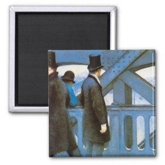Le Pont de l'Europe by Gustave Caillebotte Magnet