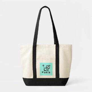 Le pooch Blue - Tote Bag