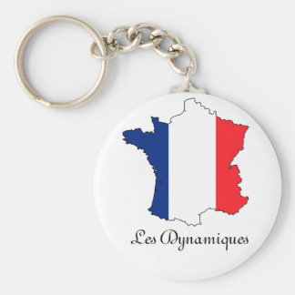 """Le porte-cle """"Les dynamiques"""" Keychain"""