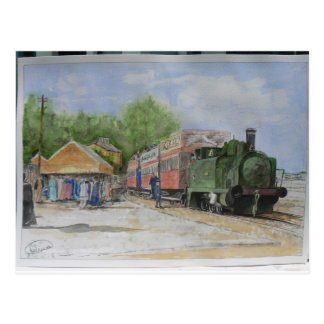 Le premier chemin de fer du monde cartes postales