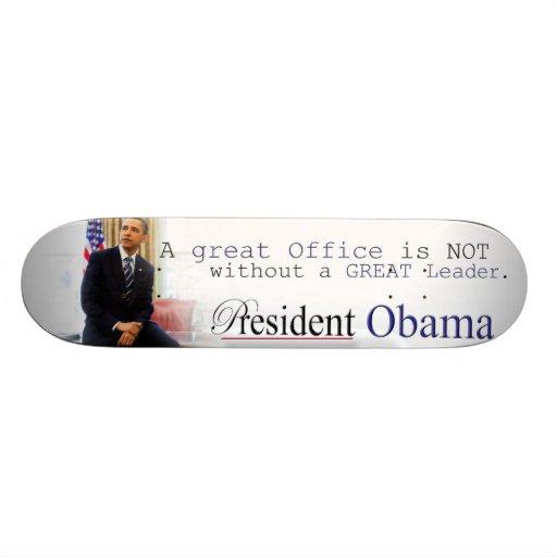 Le Président Barack Obama - planche à roulettes Plateau De Skate