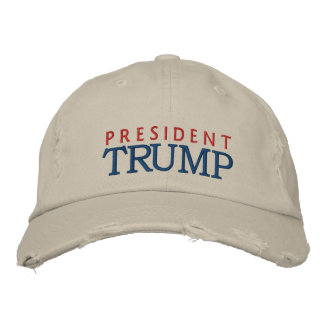 Le Président Donald Trump Casquette Brodée