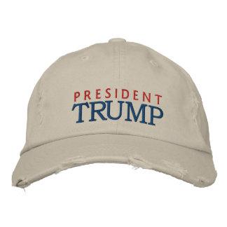 Le Président Donald Trump Casquettes Brodées