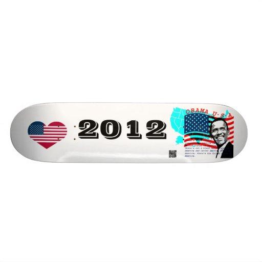 Le Président Obama Skateboards Customisés