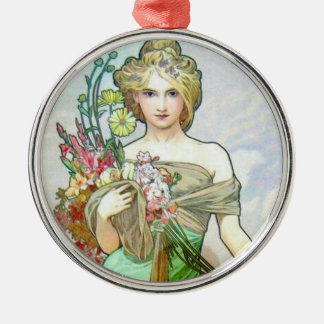 Le Printemps c1895 Metal Ornament