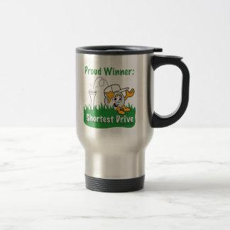 Le prix de trou le plus court d'entraînement pour mug de voyage en acier inoxydable
