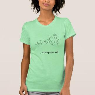 Le produit chimique de l'amour, oxytocine, t-shirt