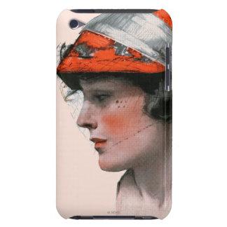 Le profil de la femme coque barely there iPod